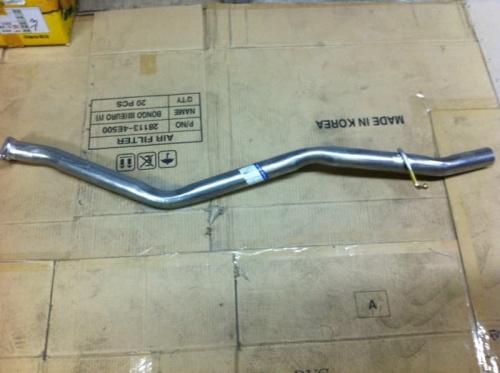 Труба глушителя (двигатель 2,7 л.)